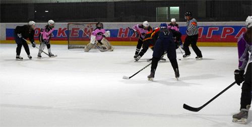 Выходные дни Женского хоккея